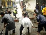 Fuertes lluvias afectan zona de los Tuxtlas