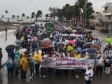 Marchan por las calles en contra del aborto