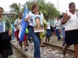 Caravana de Mujeres Migrantes pasa por Veracruz