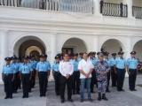 El alcalde de Boca del Río puso en marcha a la nueva policía municipal