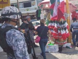 "Buscan Marinos  ""cohetes"" y ""palomas"" en zona de mercados"