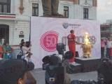 Flama Olímpica ilumina a Veracruz