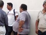 Protestan obreros de Tamsa, exigen pago de fondo de ahorro