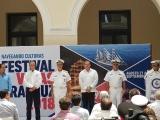 SEMAR reconoce apoyo de municipios para realización del Festival Velas Veracruz 2018.