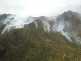Activan puesto de Comando Unificado para combatir incendio en Alto Lucero