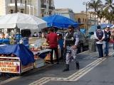 Intentan desalojar a vendedores ambulantes del paseo del Malecón