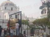 """Hoy """"cantan"""" el premio mayor en  el zócalo de Veracruz"""