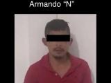 Detiene Fuerza Civil a hombre por posesión de arma de fuego y droga, en Pánuco
