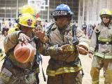 Partidazo de bomberos