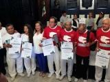 Entregan reconocimientos a instituciones que participaron en el desfile  de la Revolución Mexicana