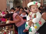 Bendicen inditos en la Catedral de Veracruz