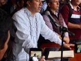 """Se hará lo que el pueblo decida"""": gobernador Cuitláhuac a Chinameca"""