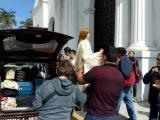Por séptimo año, parte peregrinación de la Virgen de la Candelaria rumbo a L.A California