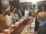 Carlos García Cruz tomó protesta como nuevo Comandante de la Policía Municipal de Veracruz