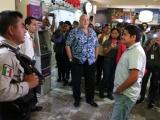 Con elementos de seguridad privada impiden acceso a ex trabajadores del Acuario de Veracruz