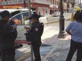 Se incendia semáforo y luminaria en pleno centro de Veracruz