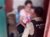 Rescata SSP a mujer privada de su libertad, en Cuichapa