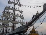 "Buque Escuela ""Simón Bolívar"" de Venezuela atracó en puerto de Veracruz"