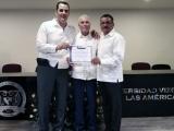 Reconoce AMD trayectoria profesional del abogado Octavio Pozos Marín
