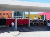 Paro de labores en Tamsa, trabajadores  en  contra del regreso de Pascual Lagunes