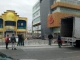 Inició el retiro de gradas del Carnaval