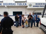 Rescatan fuerzas federales y estatales a migrantes centroamericanos