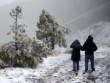 Posibilidades de caída de agua nieve y nieve por frente frío en Veracruz