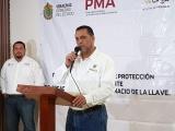 Devuelve gobernador armas a la Policía Municipal de Alvarado