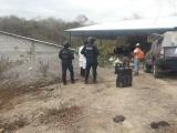 Desmantelan narcolaboratorio y bodega, en Tlalixcoyan