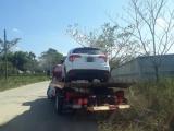 Detiene SSP a dos personas con auto robado