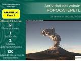 Mantiene PC monitoreo por cambio en Semáforo de Alerta Volcánica