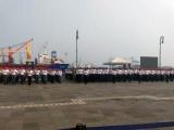 Jóvenes realizan Jura de Bandera del Servicio Militar Nacional
