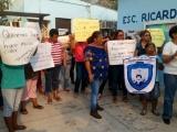 Deja CFE sin luz a la primaria Ricardo Flores Magón