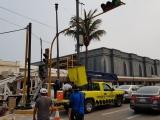 Colocan semáforos de nueva generación en el centro de la ciudad