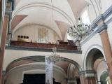 Cae albañil de andamio localizado en el interior de la Catedral de Veracruz
