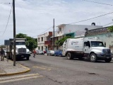Denuncian robo a camiones de Limpia Pública del Ayto. de Veracruz