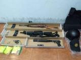 Detiene SSP a 2 por delitos contra la salud y portación ilegal de arma de fuego