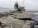 Lluvia torrencial colapsa muro de pescadores de Alvarado