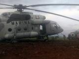 Aterriza aeronave de la Marina en Yanga