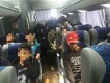 Rescatan SSP y SEDENA a 55 migrantes; tres detenidos por tráfico de personas