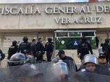 Morena pide a SSP retirar seguridad en Fiscalía