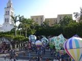 Tradicionales globos de papel de San Andrés Tuxtla