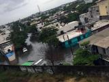 Se inunda media ciudad de Veracruz