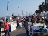Ambulantaje foráneo se adueña del paseo del Malecón de Veracruz