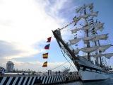 Visita en Veracruz el buque venezolano Simón Bolívar