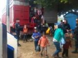 Rescata SSP a cien migrantes, 32 son menores de edad