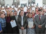 Entrega gobernador de Veracruz 10 mil plazas al magisterio