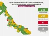 Suben a 3 los muertos por coronavirus en Veracruz