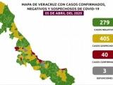 40 casos de coronavirus en Veracruz
