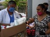 Ciudadania entrega material médico en hospitales de Veracruz
